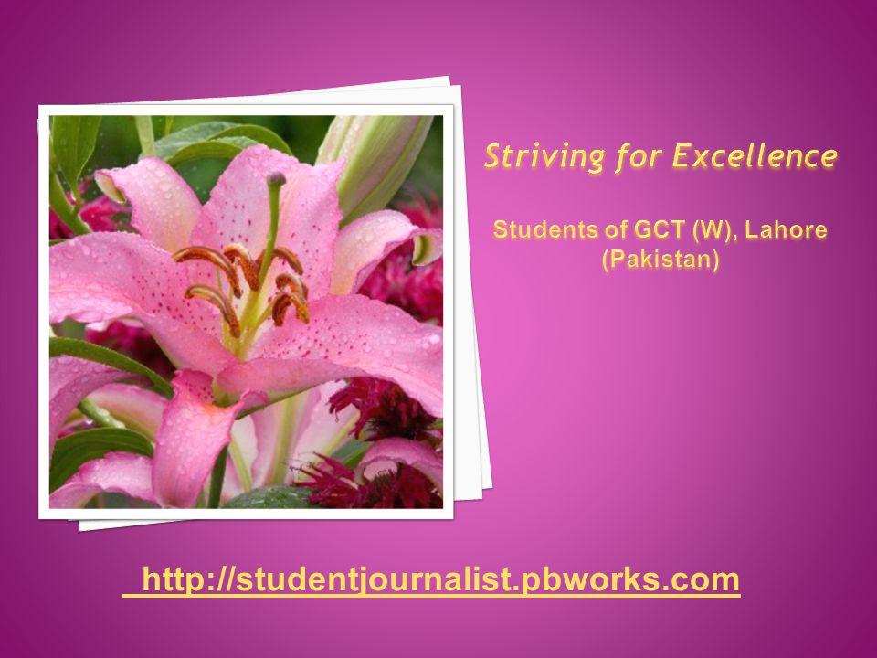 http://studentjournalist.pbworks.com
