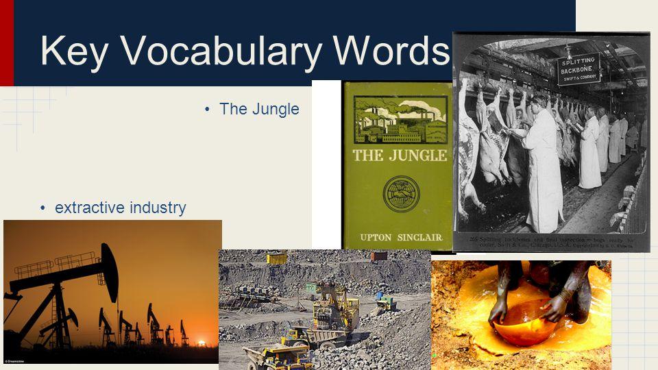 Key Vocabulary Words Tammany Hall