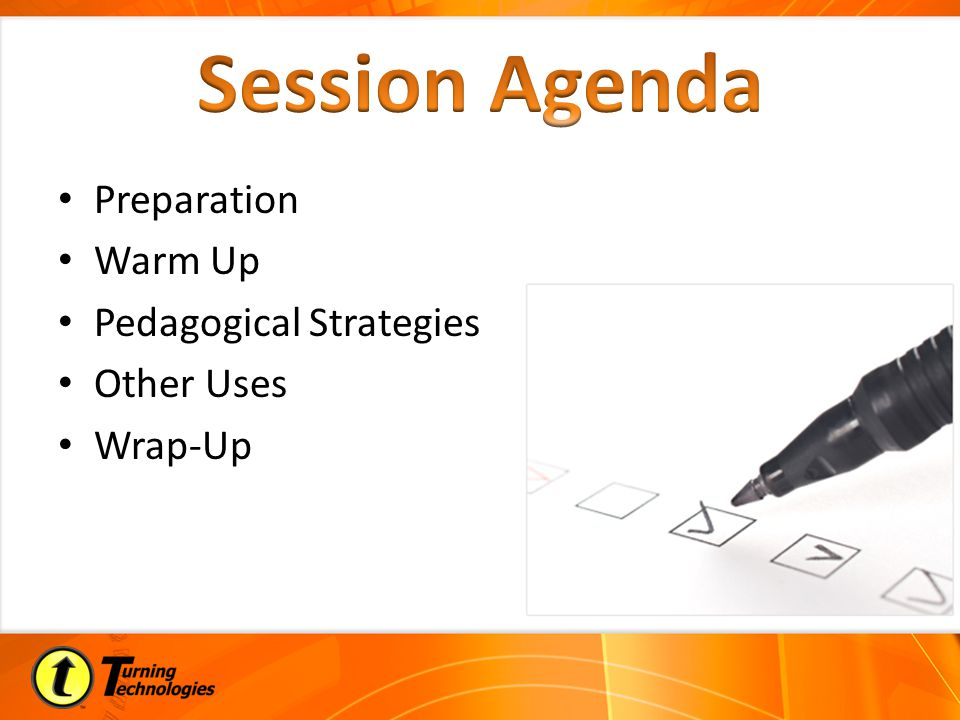Preparation Warm Up Pedagogical Strategies Other Uses Wrap-Up