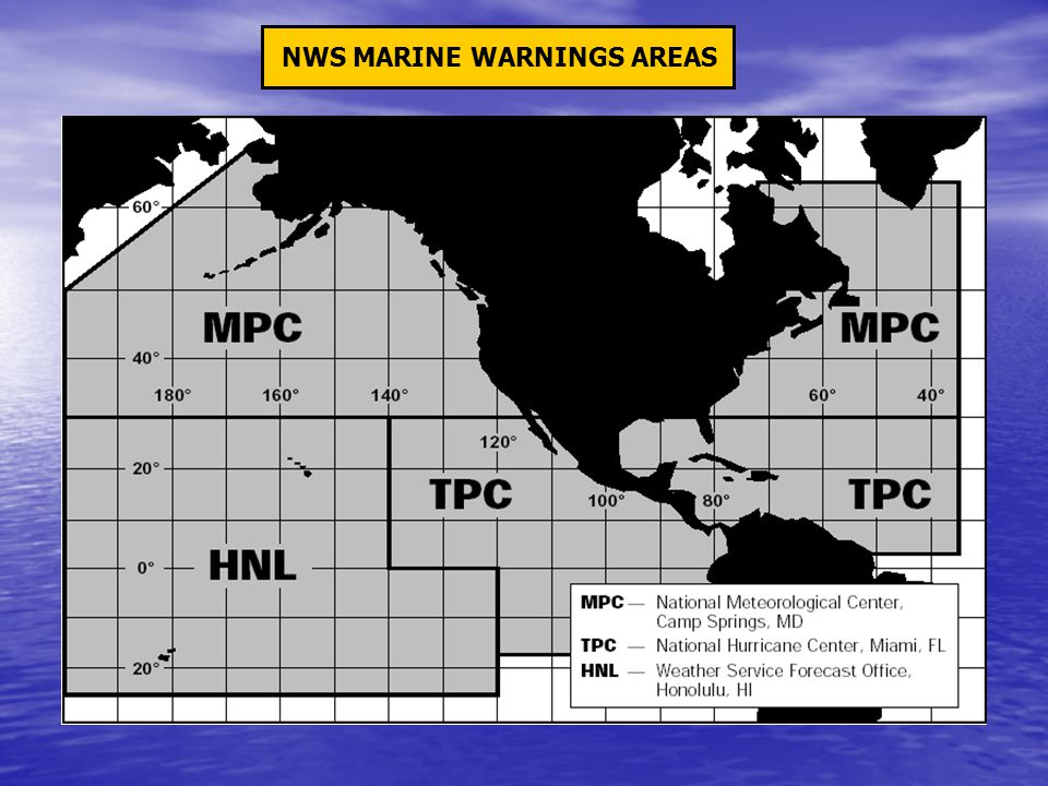 NWS MARINE WARNINGS AREAS