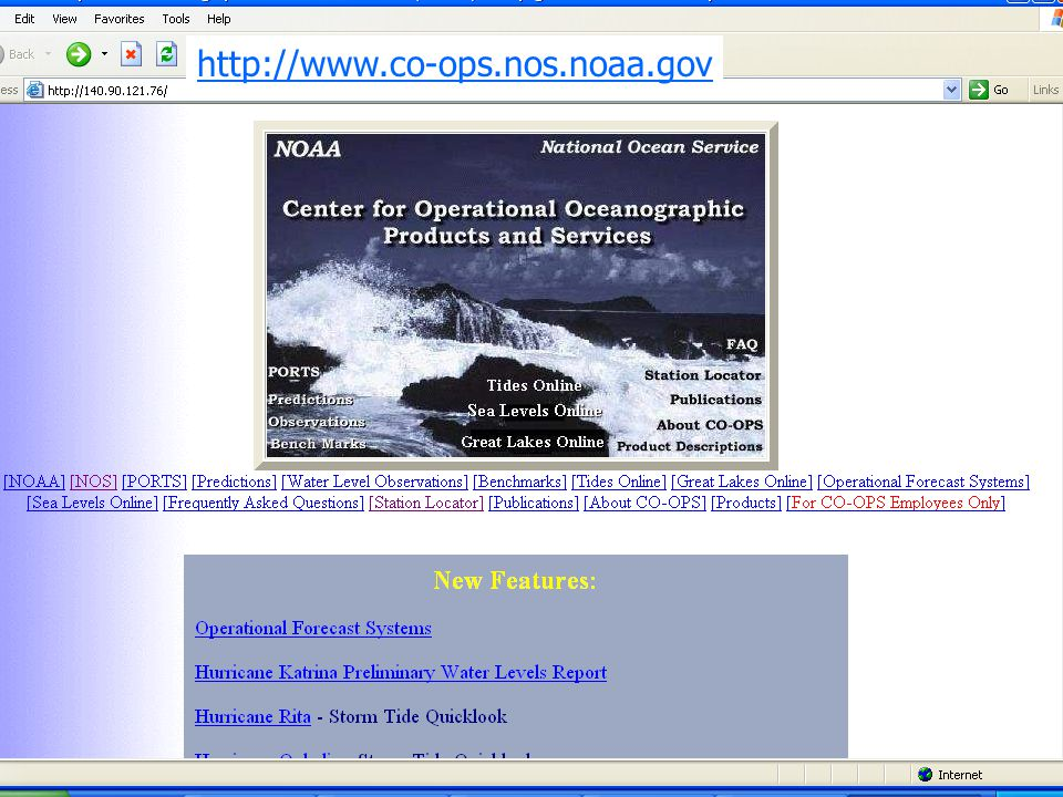 http://www.co-ops.nos.noaa.gov