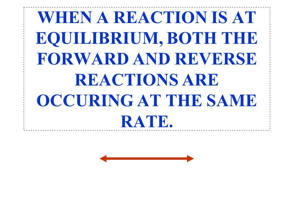 K eq = [I 2 ][H 2 ] [HI] 2 = (0.010) (0.010) (0.080) 2 K eq = 0.016 Why do we care about the equilibrium constant.