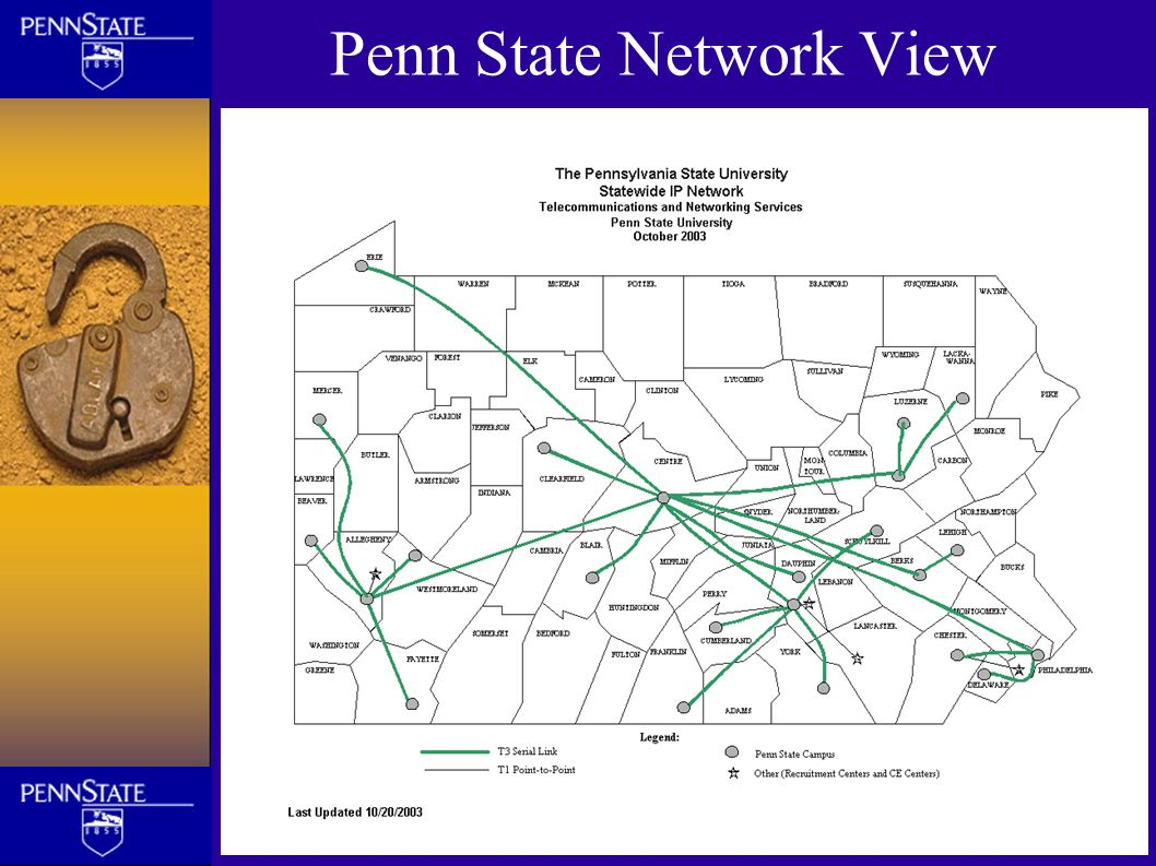 Penn State Network View