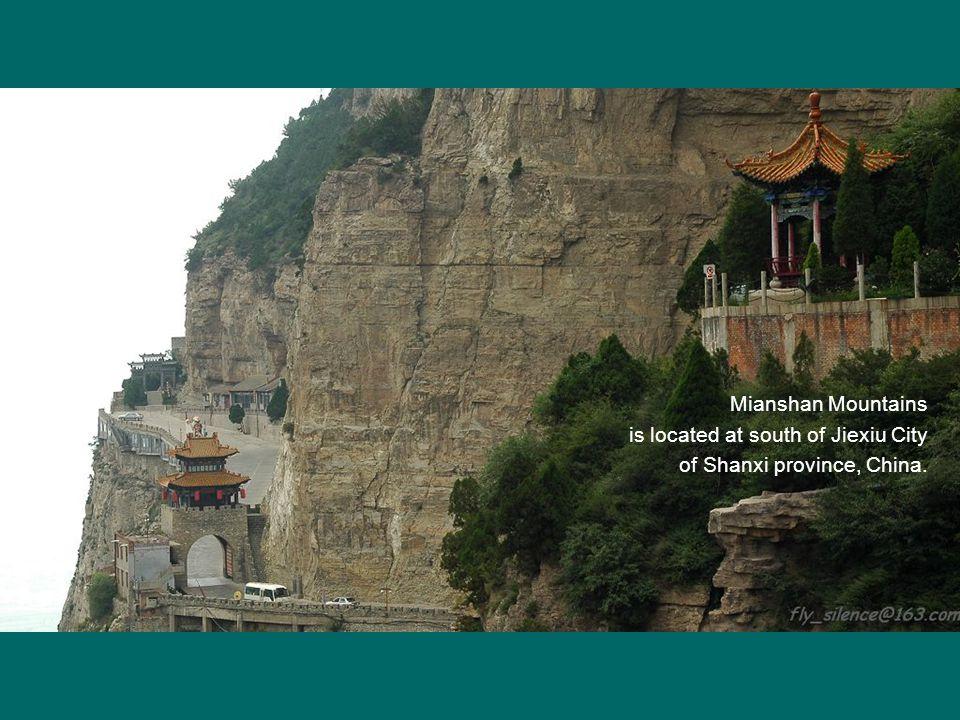 Cliff temple concealing secret road