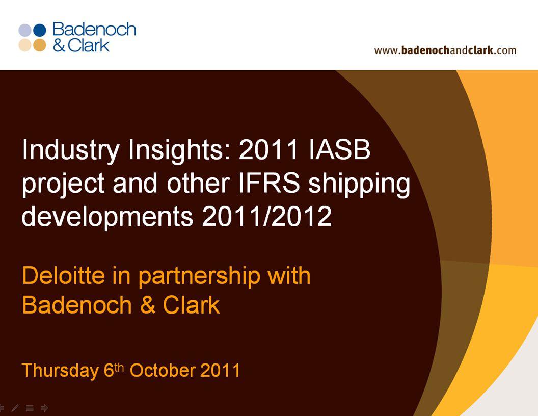 Deloitte-LBG UK screen 4:3 (19.05 cm x 25.40 cm) © 2011 Deloitte LLP. Private and confidential.