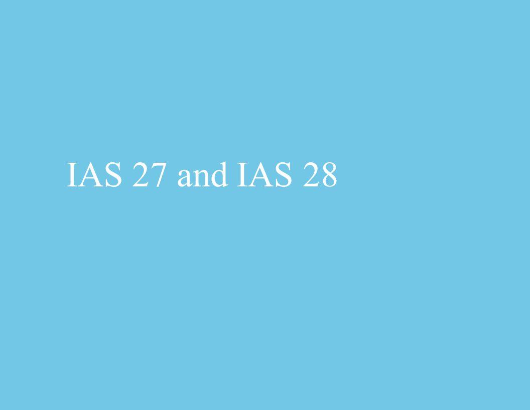 IAS 27 and IAS 28