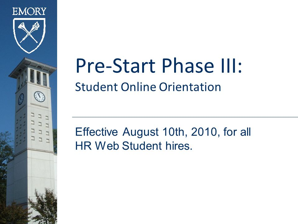 What is not Changing?  PeopleSoft HR Web Student Hire Process is the same.