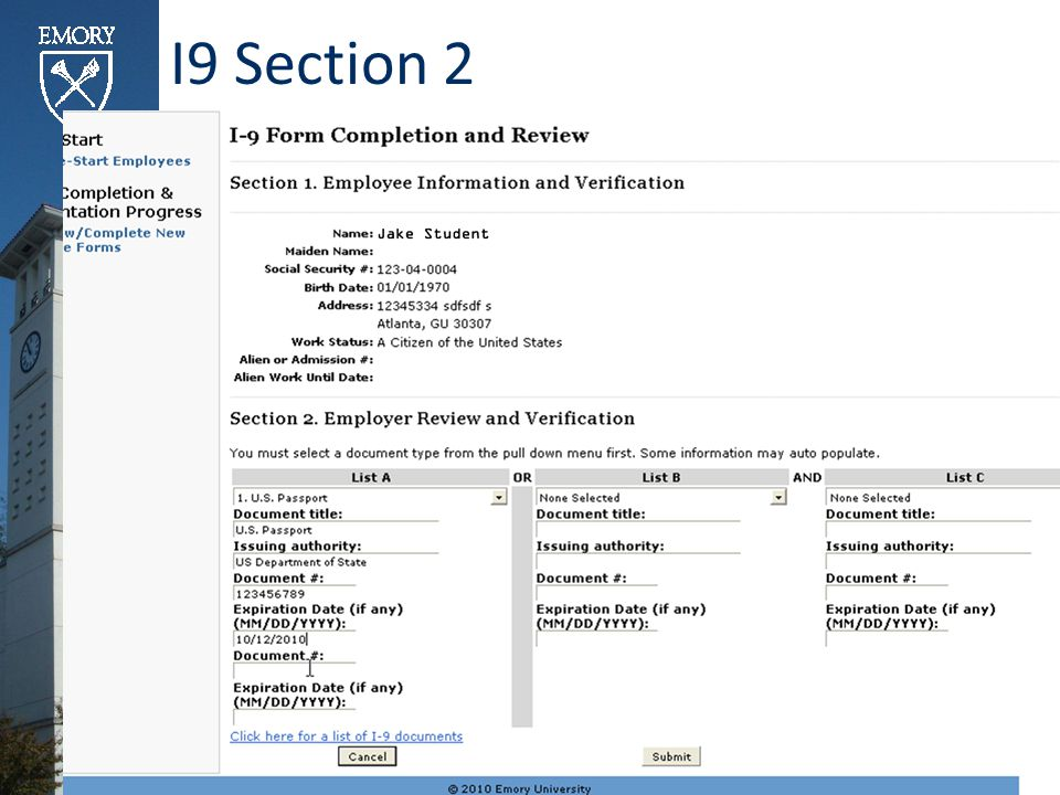 I9 Section 2