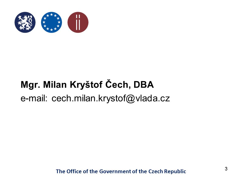 24 The Office of the Government of the Czech Republic MagnusWeb – Financial Statements
