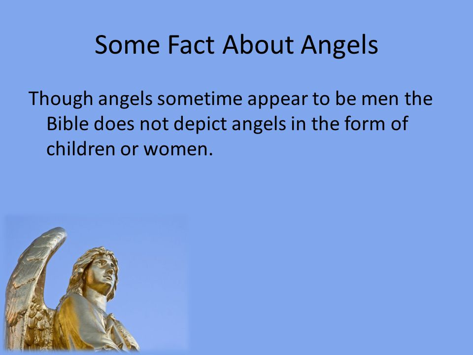 Some Non-biblical Pictures of Angels
