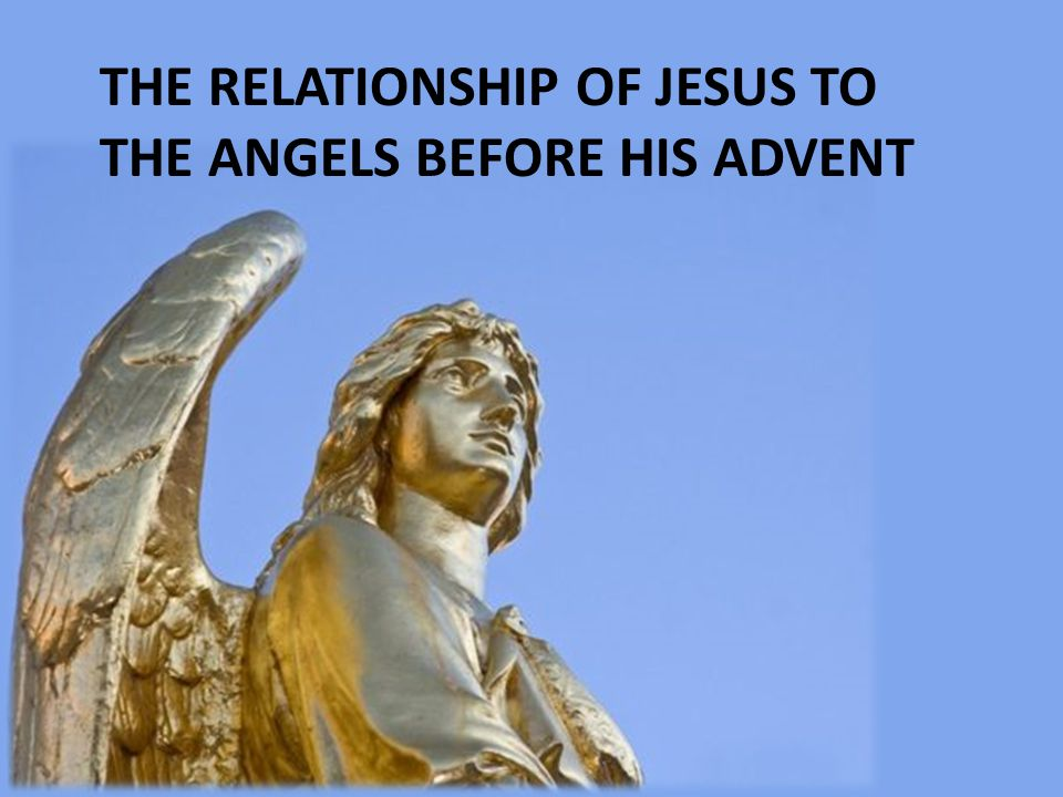 ANGELS WORK FOR JESUS NOW
