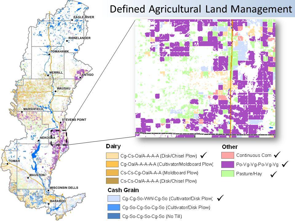 Defined Agricultural Land Management