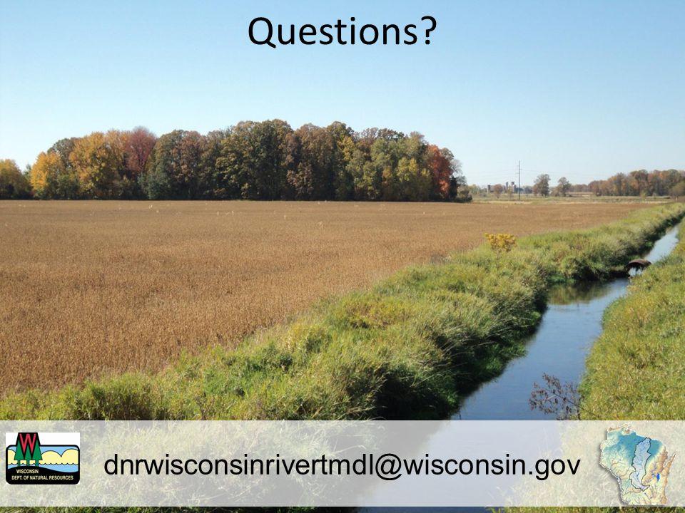 dnrwisconsinrivertmdl@wisconsin.gov Questions
