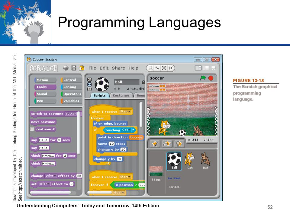 Programming Languages Understanding Computers: Today and Tomorrow, 14th Edition 52