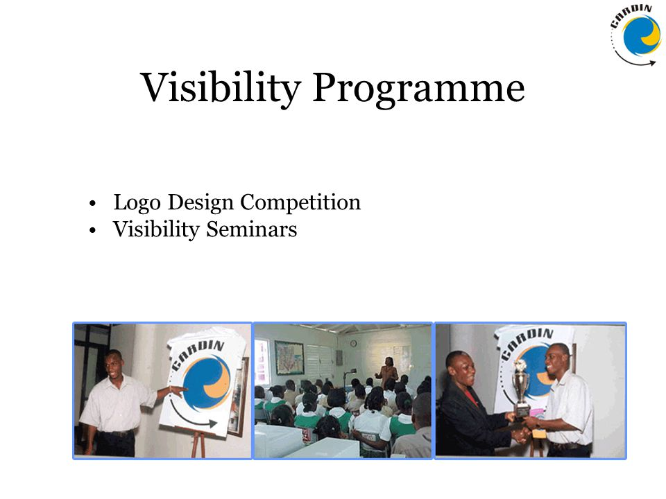 Visibility Programme Logo Design Competition Visibility Seminars