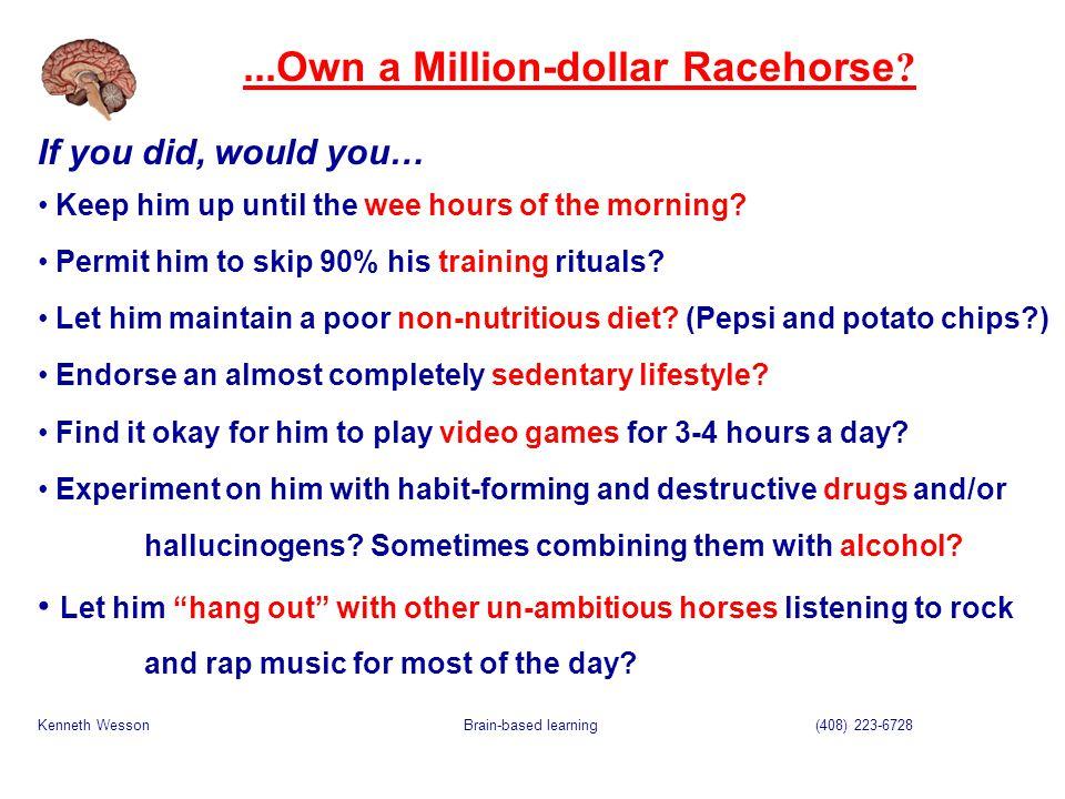 ...Own a Million-dollar Racehorse .