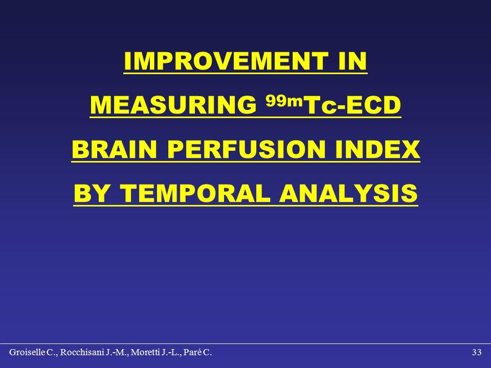 Groiselle C., Rocchisani J.-M., Moretti J.-L., Paré C.32 CONCLUSION Contrast enhancement Resolution improvement Simple and fast method