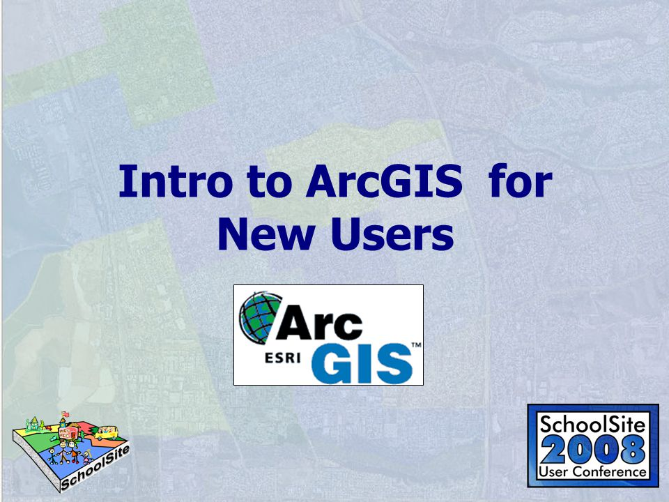 Intro to ArcGIS for New Users