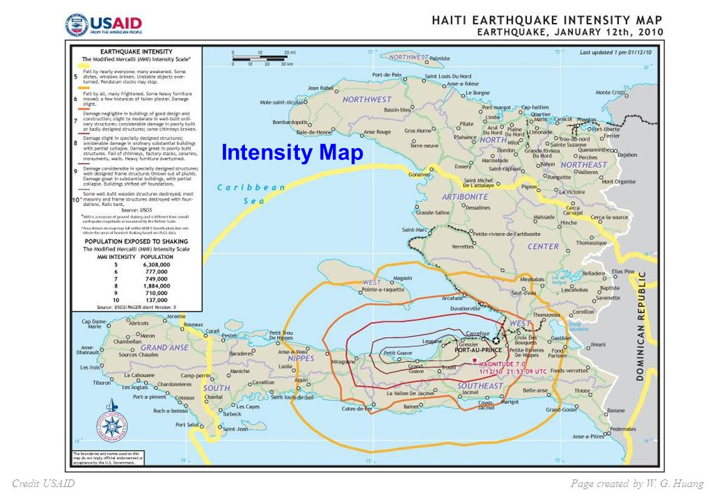 Credit USAID Intensity Map