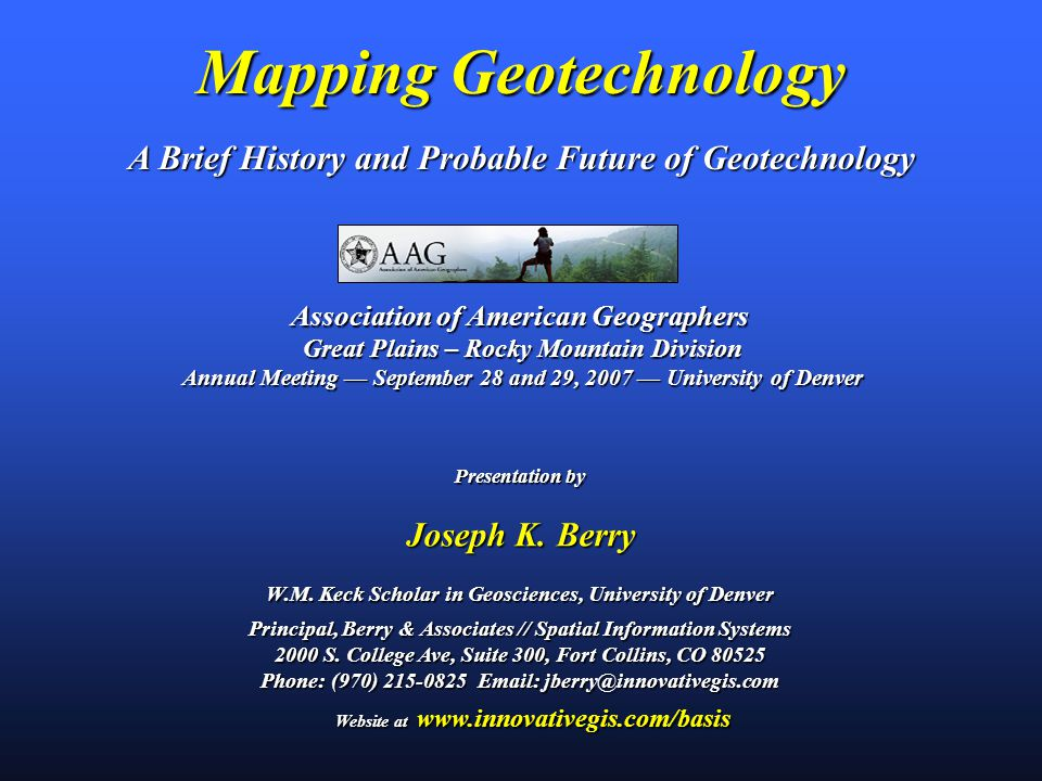 Map Analysis Geographic Space Discrete Spatial Object Spatially Generalized 22.0 Continuous Spatial Distribution Spatially Detailed GeoExploration vs.