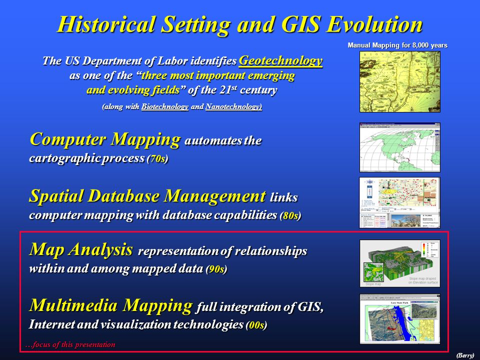 Presentation by Joseph K. Berry W.M. Keck Scholar in Geosciences, University of Denver Principal, Berry & Associates // Spatial Information Systems 20