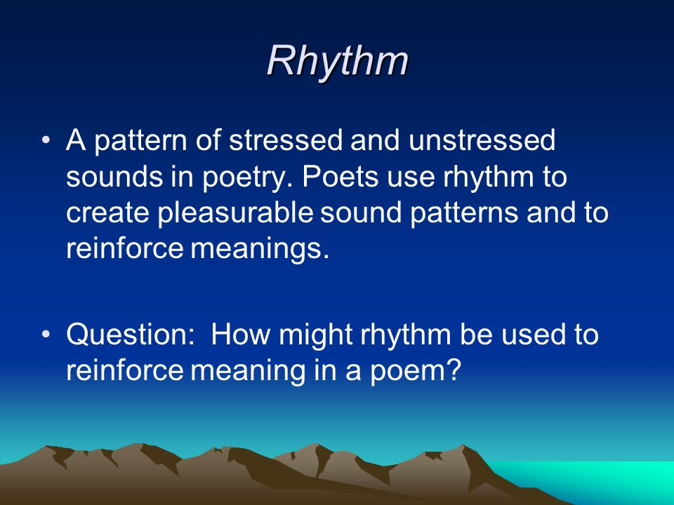 Lines and Stanzas A Line is the most basic unit of poetry, and can be measured in feet, a unit for describing the number of and arrangement of syllables in a line.