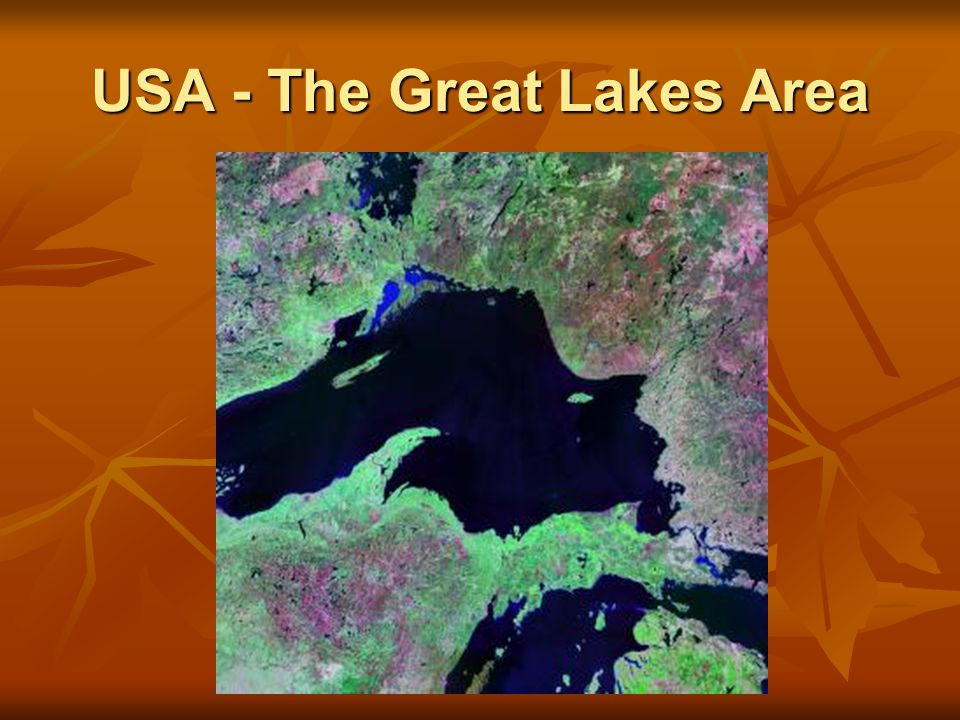 USA - The Great Lakes Area