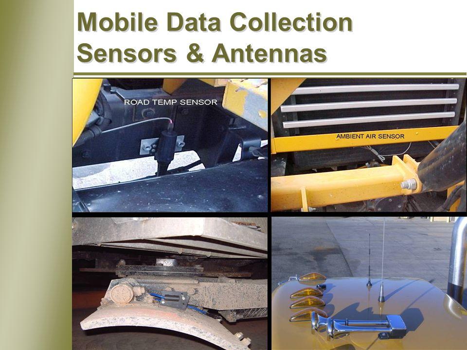 14 Mobile Data Collection Sensors & Antennas