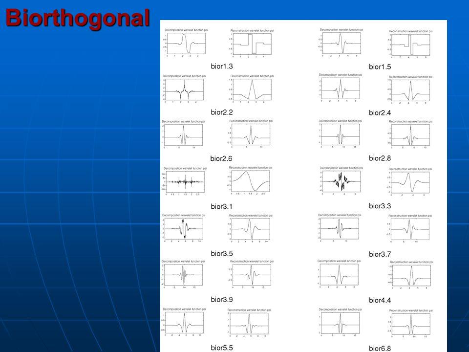 Biorthogonal