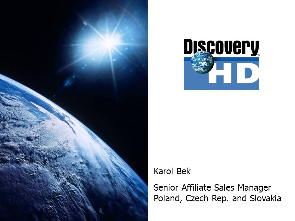 Why is Discovery doing HD.