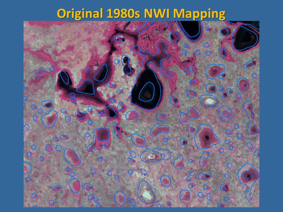 Original 1980s NWI Mapping
