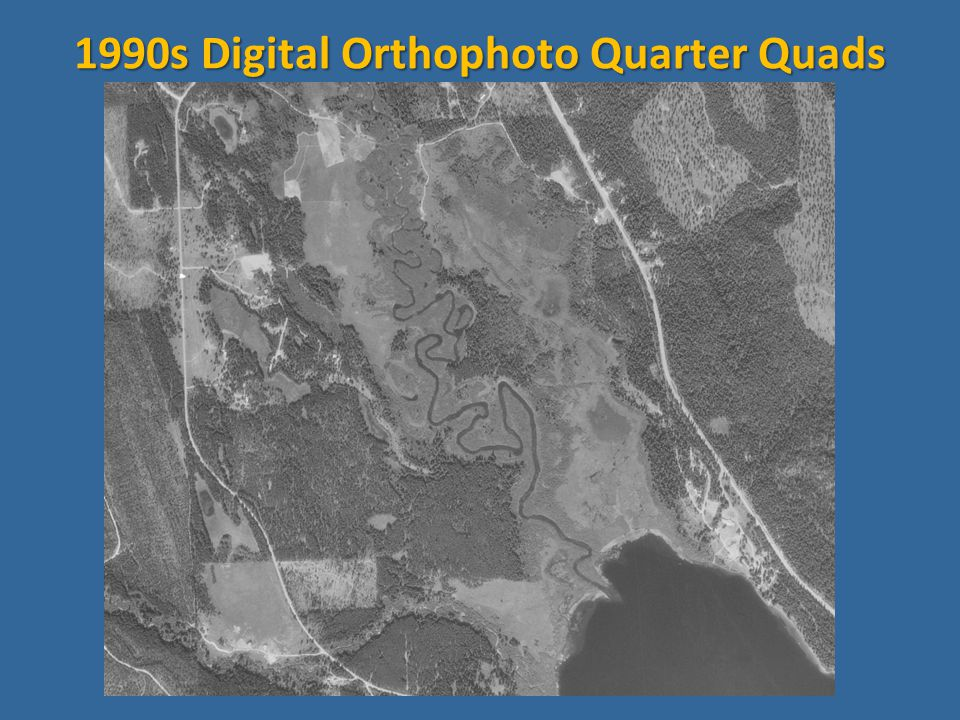 1990s Digital Orthophoto Quarter Quads
