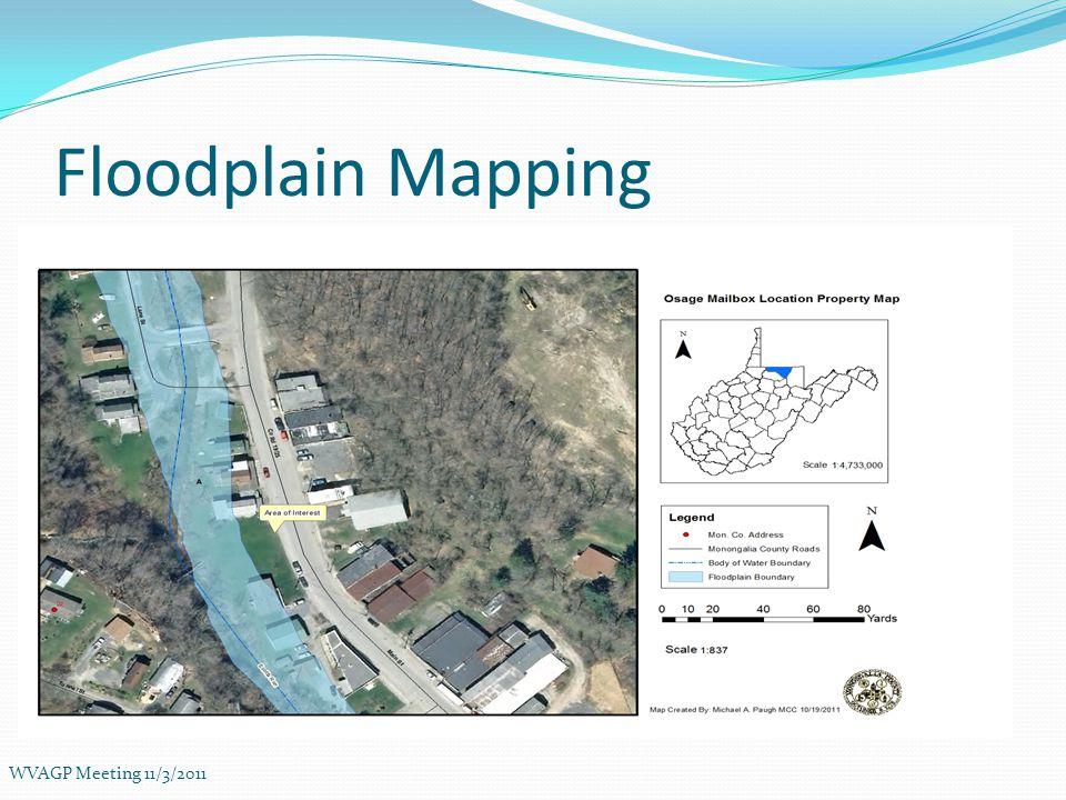 2010 Building Footprints (Downtown Morgantown) WVAGP Meeting 11/3/2011