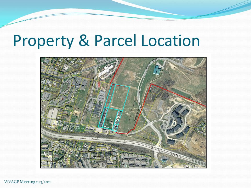 Recreation Location WVAGP Meeting 11/3/2011