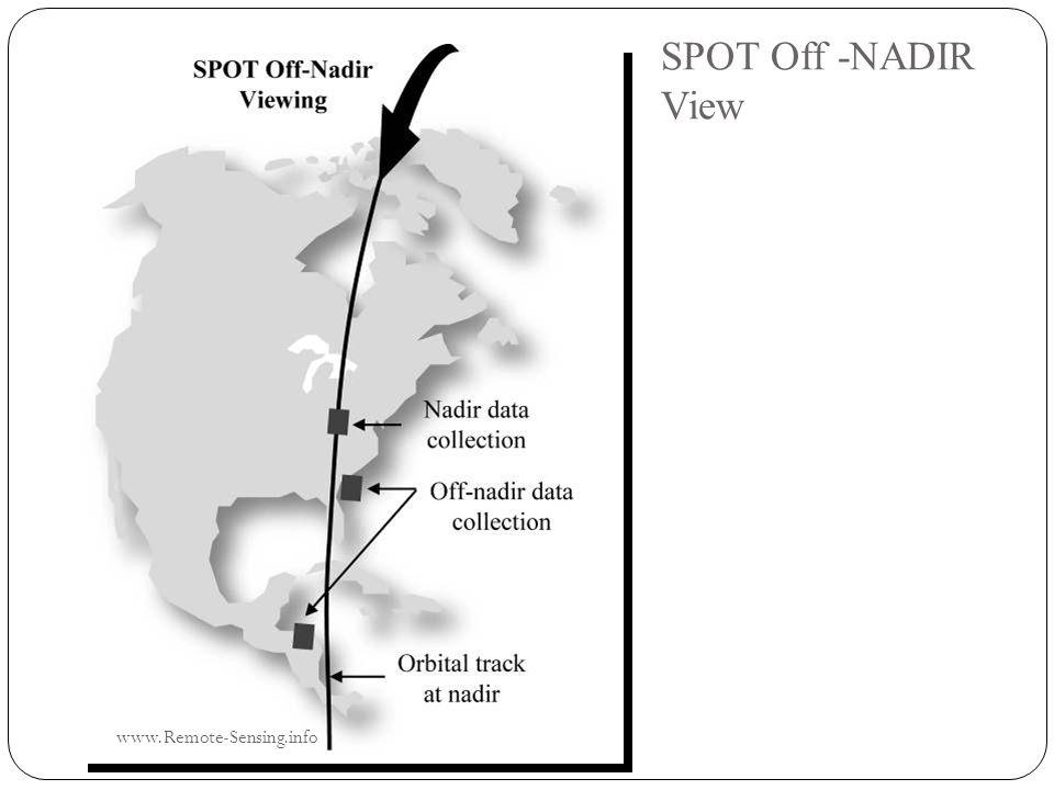 SPOT Off -NADIR View www.Remote-Sensing.info
