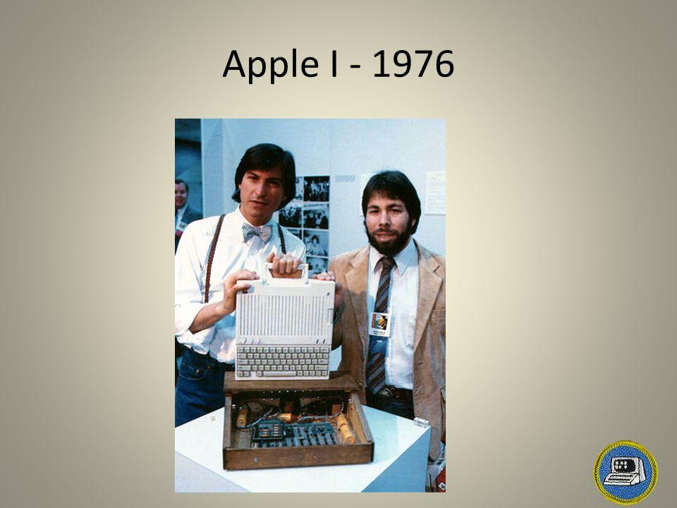 Apple I - 1976