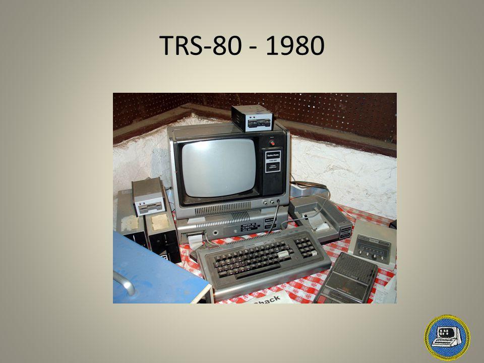 TRS-80 - 1980