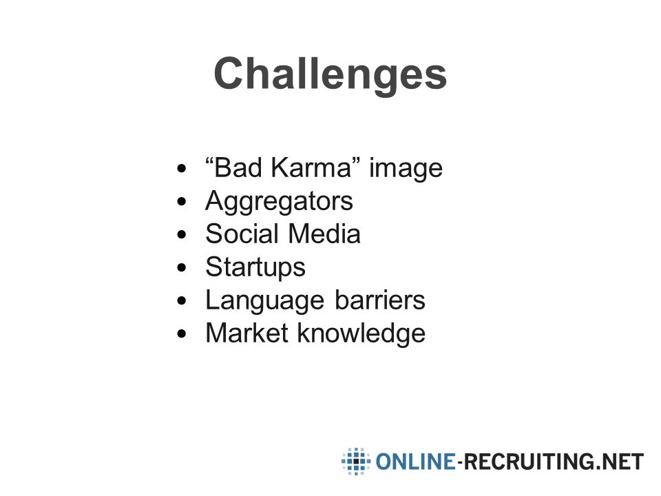 Challenges Bad Karma image Aggregators Social Media Startups Language barriers Market knowledge