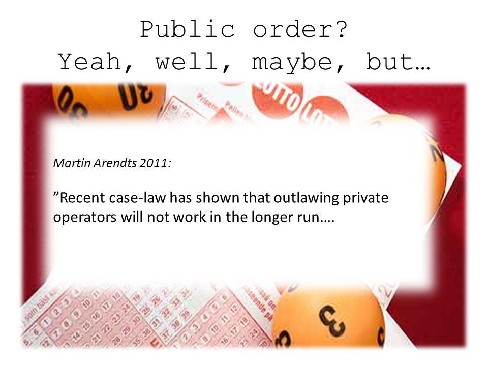 Public order?