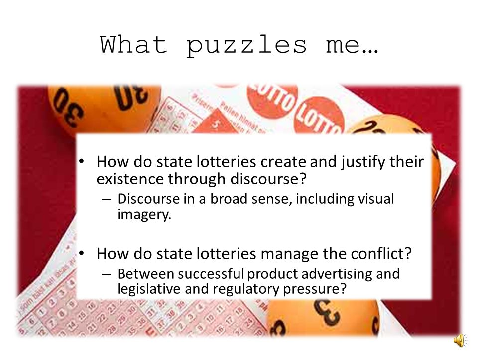 What puzzles me?