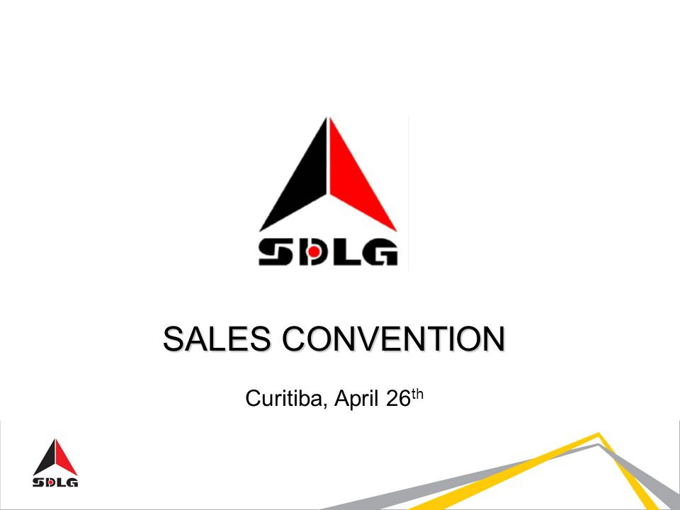SALES CONVENTION Curitiba, April 26 th