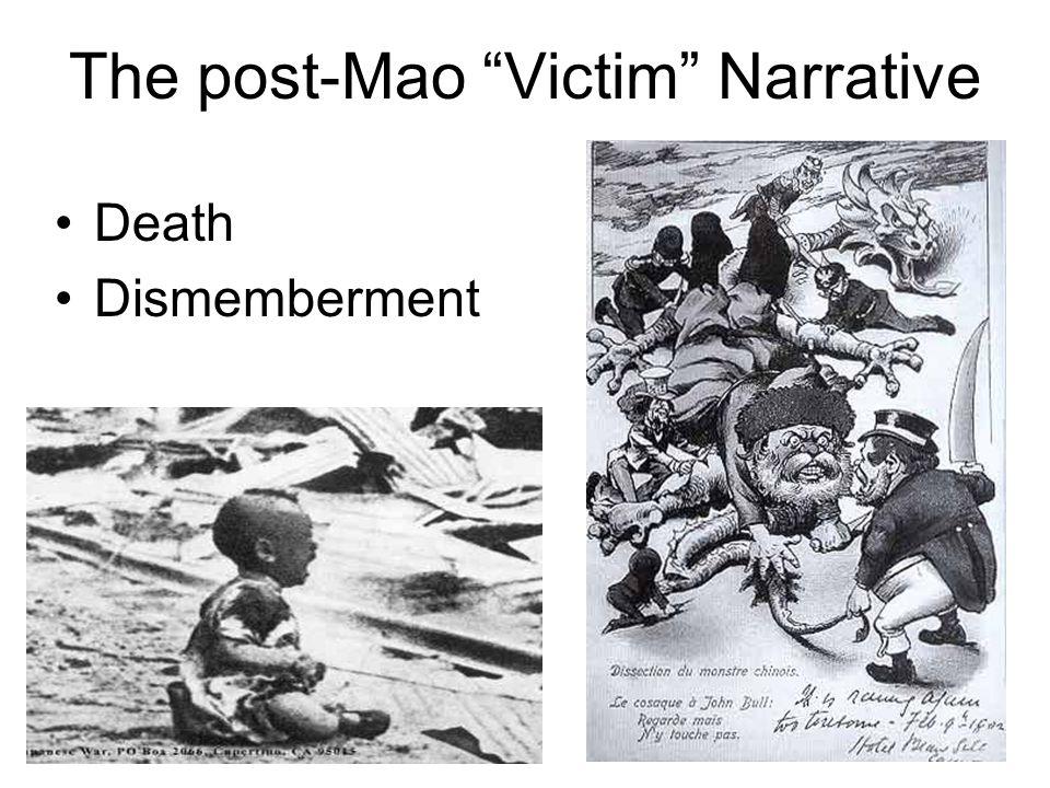 The post-Mao Victim Narrative Death Dismemberment