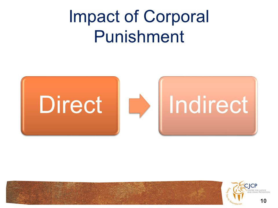10 DirectIndirect Impact of Corporal Punishment