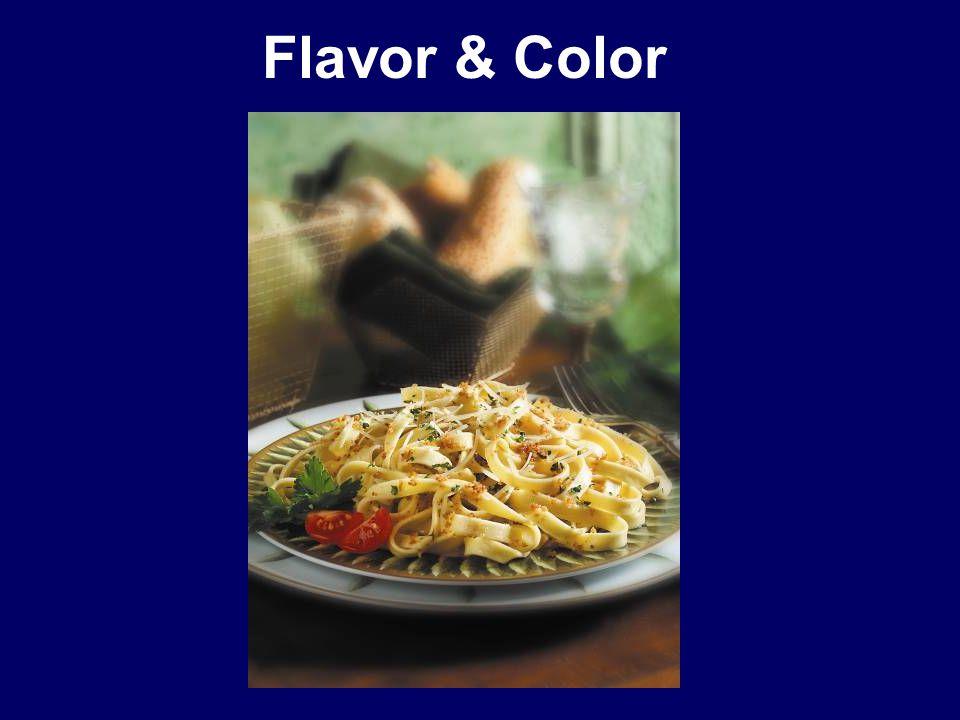 Flavor & Color