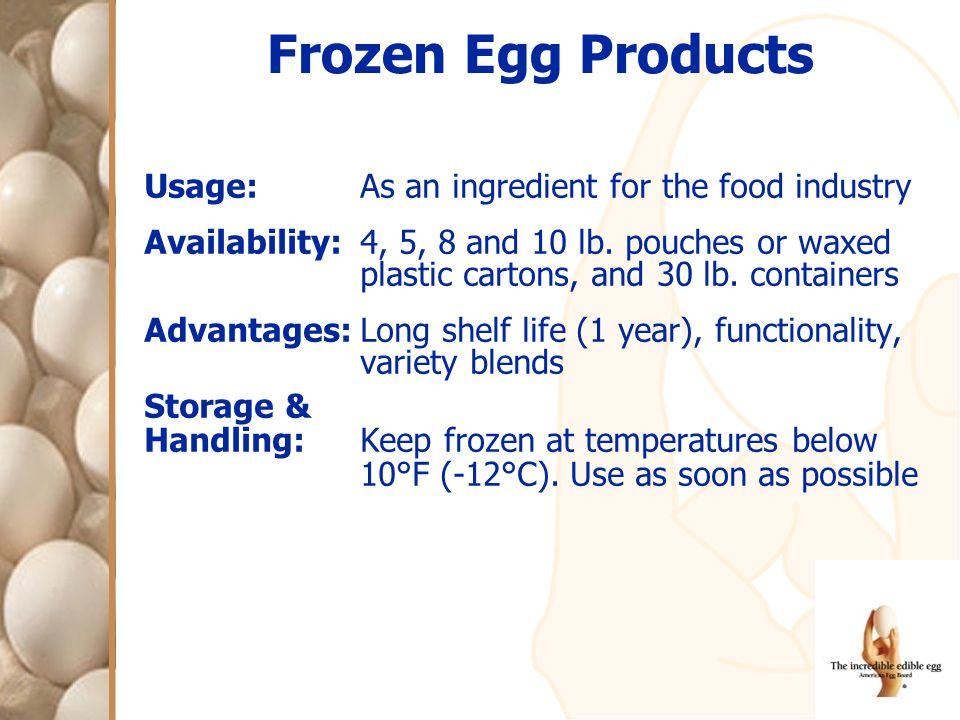 Usage:As an ingredient for the food industry Availability:4, 5, 8 and 10 lb. pouches or waxed plastic cartons, and 30 lb. containers Advantages:Long s
