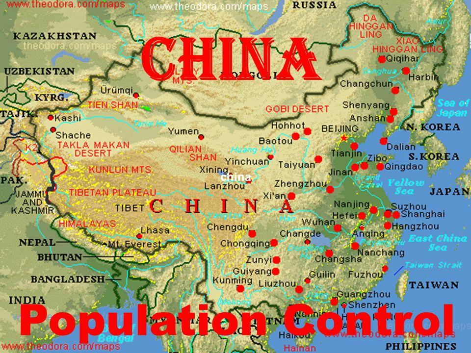 China china Population Control