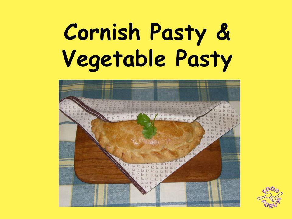 Cornish Pasty & Vegetable Pasty