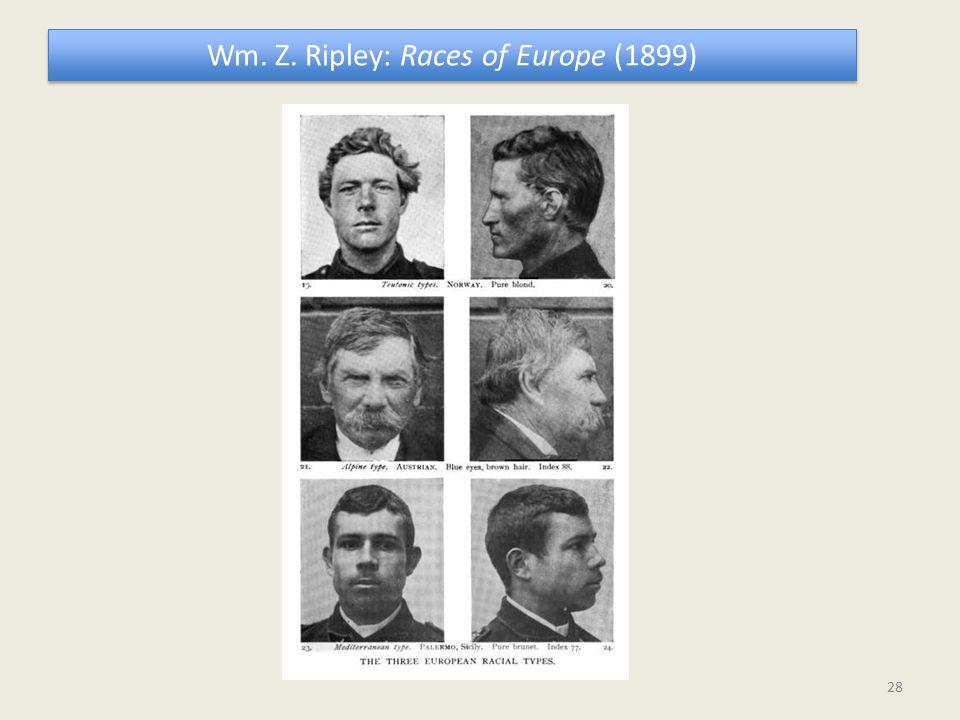 Wm. Z. Ripley: Races of Europe (1899) 28