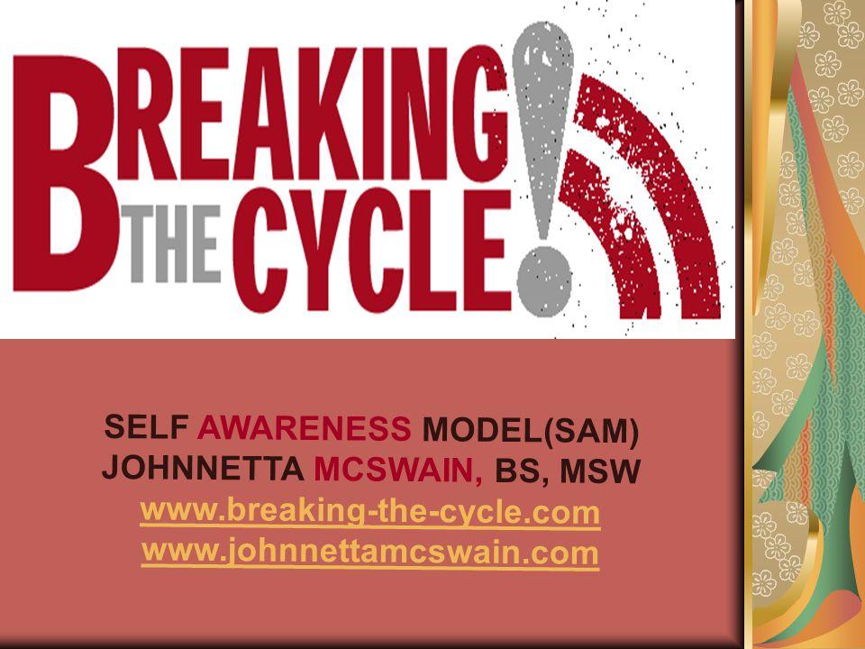SELF AWARENESS MODEL(SAM) JOHNNETTA MCSWAIN, BS, MSW www.breaking-the-cycle.com www.johnnettamcswain.com
