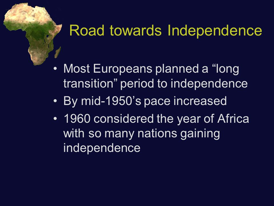 Results of Decolonization Initial political parties reflected ethnic, regional, or religious groups - few true national parties Power often gained by corrupt African strongmen (dictators) who ignored the social needs of people Large loans to modernize economies squandered by those in power - leave little progress, lots of debt